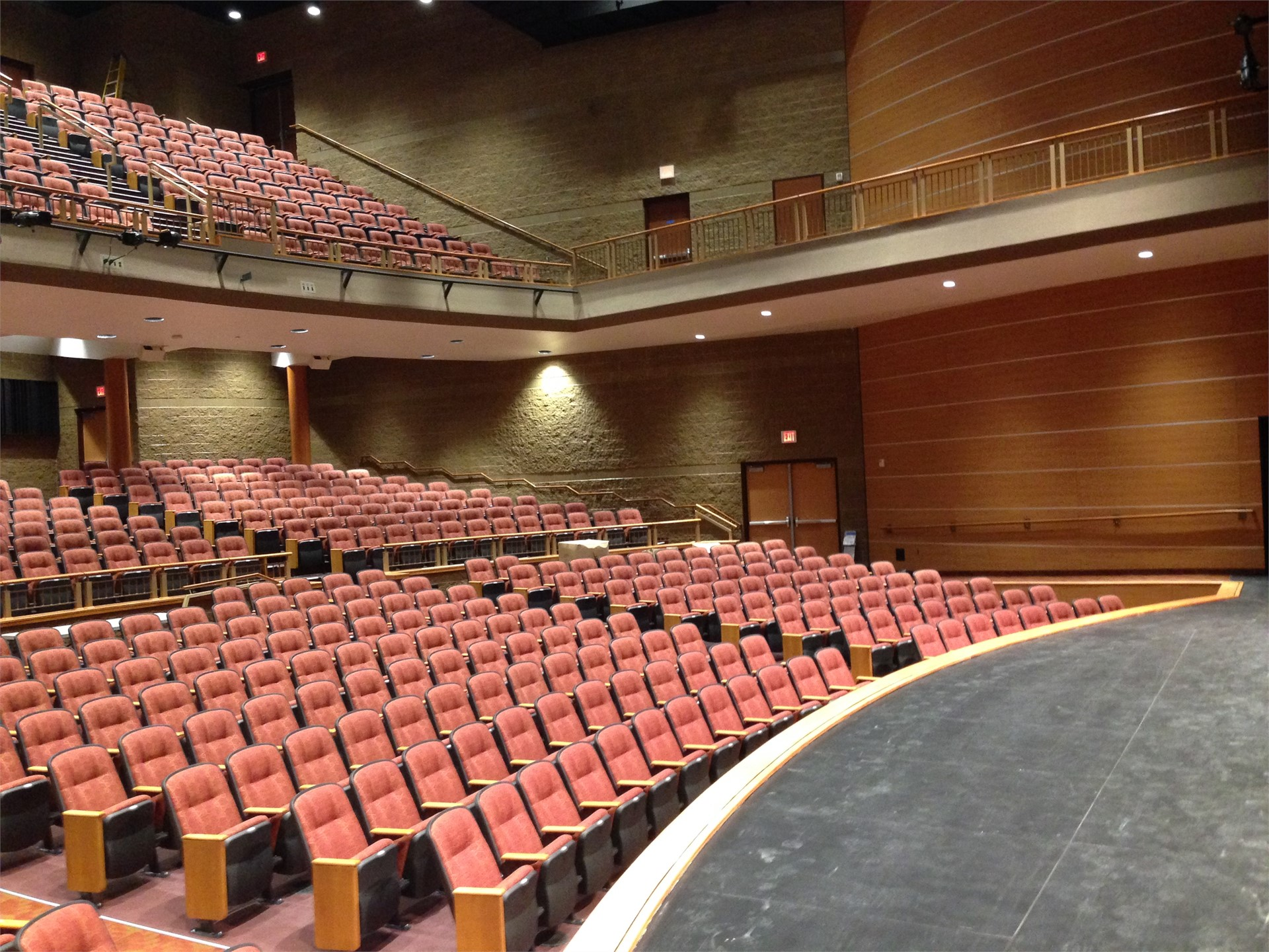 Picture of seating from stage right