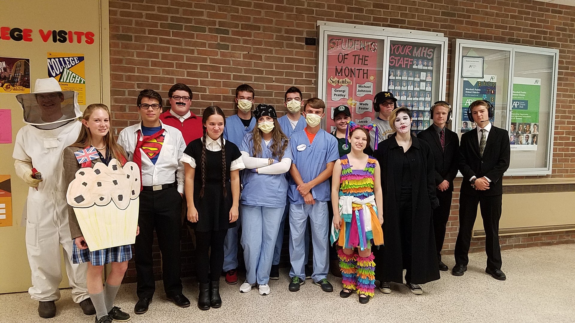 Happy Halloween from MHS!