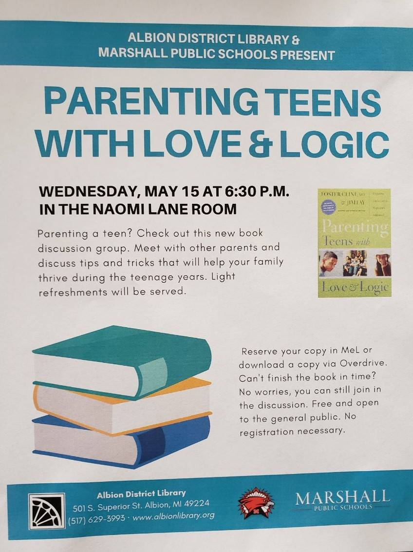 Parenting Teens with Love & Logic - Albion